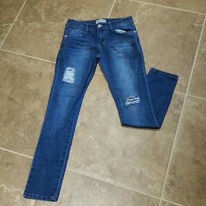 Like new girls size 12 guess jeans